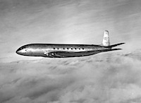 De Havilland Comet -- BOAC test flight